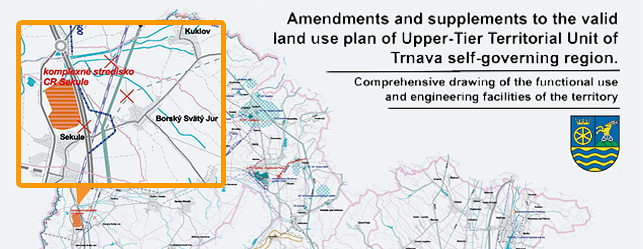 Land use plan for Upper-Tier Territorial Unit of Trnava self-governing region